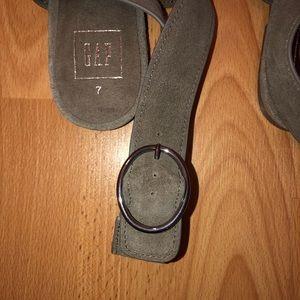 GAP Shoes - Gap Suede Sandals Size 7